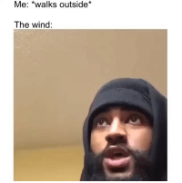 Chicago, Funny, and Lmao: Me: *walks outside*  The wind: This Florida wind is hittin lmao Chicago isn't shit