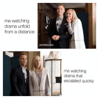 Why is this true? 😂😂😂 If drama is low key your thing...tune in to OddMomOut TONIGHT at 10-9c on @bravotv ad: me watching  drama unfold  from a distance  @OddMomOut  me watching  |drama that  escalated quickly Why is this true? 😂😂😂 If drama is low key your thing...tune in to OddMomOut TONIGHT at 10-9c on @bravotv ad