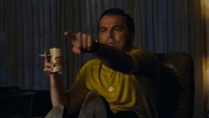 Me watching Once Upon a Time in Hollywood when Rick Dalton points at the tv: Me watching Once Upon a Time in Hollywood when Rick Dalton points at the tv