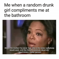 Wife never compliments me