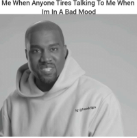 Funny, Bad Mood, and Planes: Me When Anyone Tires Talking To Me When  Im In A Bad Mood  clips  lg: @hood Haha accurate af 😂😂😂😂 ( Follow Us @hoodclips ) By: Pigeons & Planes HoodClips comedy HoodComedy