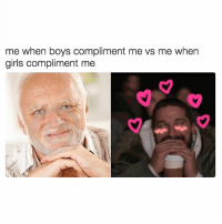 hahduciw lol yes @feminist I know we we were respecting women in 2017 but it's 2018 now and we are also empowering them. Follow @feminist and let's spread some empowerment!!! Yath: me when boys compliment me vs me when  girls compliment me hahduciw lol yes @feminist I know we we were respecting women in 2017 but it's 2018 now and we are also empowering them. Follow @feminist and let's spread some empowerment!!! Yath