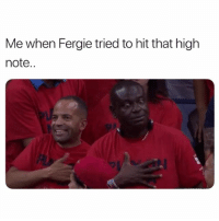 Internet, Memes, and Wshh: Me when Fergie tried to hit that high  note.. The internet is too quick...😳😩☠️ NationalAnthem WSHH