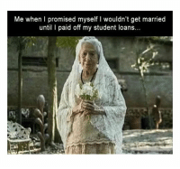 Advice, Grandma, and Pizza: Me when I promised myself I wouldn't get married  until I paid off my student loan... #1 Meet Frankie.#2 When you know someone is lying...#3 This bus is a genius.#4 Finally getting married#5 State your name.#6 Me trying tolisten to own advice#7 Joke in the pizza box#8 My 96-year-old grandma playing VR for the first time.#9 Chose a friend to hang...