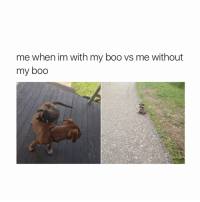 i miss my boo. i don't have a boo but i miss him anyway.: me when im with my boo vs me without  my boo i miss my boo. i don't have a boo but i miss him anyway.