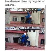 Pog, Sport, and Pus: Me whenever l hear my neighbours  arguing..  SPORT  PUS  0-1  POG