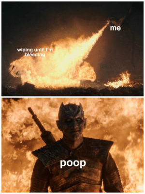 Invest in this shitpost via /r/MemeEconomy http://bit.ly/2Z8JOQ8: me  wiping until I'm  bleeding  poop Invest in this shitpost via /r/MemeEconomy http://bit.ly/2Z8JOQ8