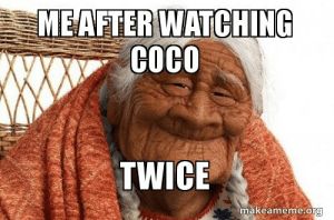 Watching Coco
