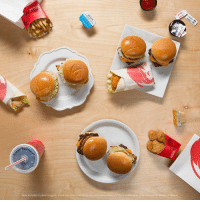 Dank, Good, and Limited: Meal includes 4 piece nuggels, unaili fries and  n limited time. The 4 for $4? Good. The 4 for $4 with 8 new options? Even gooder. Coming in to try all the choices? The Goodest.