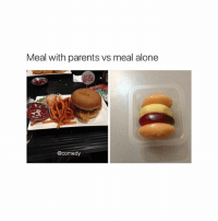 ayyyyy: Meal with parents vs meal alone  @comedy ayyyyy