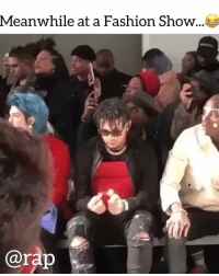 @smokepurpp a rapsavage !! What show was that ? Comment ⬇️ ➡️ TAG 5 FRIENDS ➡️ TURN ON POST NOTIFICATIONS: Meanwhile at a Fashion Show ..  arap @smokepurpp a rapsavage !! What show was that ? Comment ⬇️ ➡️ TAG 5 FRIENDS ➡️ TURN ON POST NOTIFICATIONS