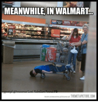 MEANWHILE, IN WALMART  more awesome pictures at  THEMETAPICTURE COM