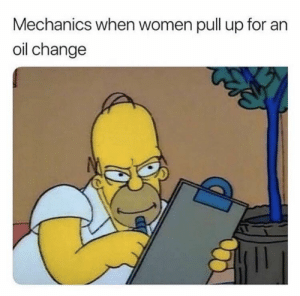 I see big things coming from this; the time to invest is now! via /r/MemeEconomy https://ift.tt/34LB1WT: Mechanics when women pull up for an  oil change I see big things coming from this; the time to invest is now! via /r/MemeEconomy https://ift.tt/34LB1WT