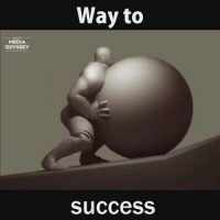 THIS IS DEEP. Never give up. Keep pushing, believe in yourself. YOU CAN DO IT. 💯 https://t.co/06oWK2QP2v: MEDIA  ODYSSEY  Way to  Success THIS IS DEEP. Never give up. Keep pushing, believe in yourself. YOU CAN DO IT. 💯 https://t.co/06oWK2QP2v