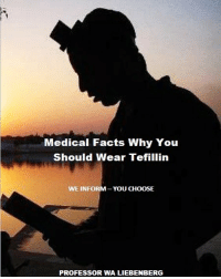 Church, Facts, and God: Medical Facts Why You  Should Wear Tefillin  WE INFORM-YOU CHOOSE  PROFESSOR WA LIEBENBERG What you are about to read Beloved Christian will leave you stunned…Why did God give such a seemingly silly instruction in the OT to pray with a leather box on your head & arm close to your heart? What is the reason for it? What purpose does it serve? To put it bluntly, it looks very stupid for many & no logical reason is given✔Nothing that God put in the Scriptures can be deemed foolish; it looks foolish for the normal person but there MUST BE some logic behind it. You are about to be introduced to a knowledge so far advance that our human minds cannot comprehend it!✔The pages of the Torah & the brain both indicate that we have a biological guidance system located between our eyes. Medical research now OPENLY admits that the Torah is true concerning the Tefillin!✔God is indicating that somewhere between our eyes is the capacity to love Him deeply. A fundamental principle of Torah-observant Believers is that the intellect must control the emotions. Unfortunately there exists a schism between the mind & the heart. Moreover, often the emotions control the mind & the intellect is utilized merely to provide justification, rationalization, & excuses for this INSTINCT-EMOTION CENTERED existence. The Tefillin & its practice facilitates the attainment by the individual of unity of mind & heart, intellect & emotion, if done properly, & this was God's original intend for man✔Do you know that inside every human skull there is a small Tefillin? Do you know that believing medical doctors & scientist now agree that God cannot make mistakes, including the working of the Tefillin?(PDF Download)✔ hebrew shalom churchflow prophets bible jesuschrist jesussaves christianity holyspirit israelites yeshua israel christ jesusislord jesuslovesyou jerusalem messianic church holybible bibleverse jesus verseoftheday scripture christian wordofgod yeshuahamashiach revival tenlosttri