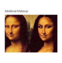 Makeup, Classical Art, and Medieval: Medieval Makeup Mona is a 10