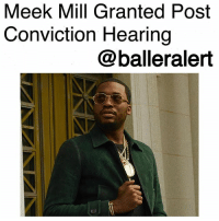 "Meek Mill Granted Post Conviction Hearing-blogged by @thereal__bee ⠀⠀⠀⠀⠀⠀⠀⠀⠀ ⠀⠀ Rapper Meek Mill has officially been granted a post-conviction hearing. ⠀⠀⠀⠀⠀⠀⠀⠀⠀ ⠀⠀ The same judge who previously sentenced him to two to four years for a probation violation, Judge Genece Brinkley of the Common Pleas Court, has now granted the Philly native a post-conviction hearing due to possible corruption of Meek's original 2008 case. ⠀⠀⠀⠀⠀⠀⠀⠀⠀ ⠀⠀ According to previous reports, the rapper's original 2007 arrest may have involved some corruption as well, and on Feb.14, his attorneys filed a Post-Conviction Relief Act petition concerning his original arrest. ⠀⠀⠀⠀⠀⠀⠀⠀⠀ ⠀⠀ The Philadelphia Inquirer reports that the Philadelphia District Attorney's Office has a secret list of suspect police officers who are not deemed as credible witnesses, one of them being Reginald Graham, a testifying officer in Meek's 2008 trial. ⠀⠀⠀⠀⠀⠀⠀⠀⠀ ⠀⠀ The post-conviction hearing has been scheduled to determine what really happened with Meek's case. His lawyer is confident that the hearing will result in him being released. ⠀⠀⠀⠀⠀⠀⠀⠀⠀ ⠀⠀ ""I mean, there were 800 cases that were dismissed or overturned upon discovery of this group of officers who had been committing crimes, lying about circumstances of arrests, and falsifying documents,"" his lawyer said. ""One of the officers is the same one who not only arrested Meek but made allegations that Meek has always denied. This is the only one that testified against Meek."" ⠀⠀⠀⠀⠀⠀⠀⠀⠀ ⠀⠀ Meek heads to court on April 16.: Meek Mill Granted Post  Conviction Hearing  @balleralert Meek Mill Granted Post Conviction Hearing-blogged by @thereal__bee ⠀⠀⠀⠀⠀⠀⠀⠀⠀ ⠀⠀ Rapper Meek Mill has officially been granted a post-conviction hearing. ⠀⠀⠀⠀⠀⠀⠀⠀⠀ ⠀⠀ The same judge who previously sentenced him to two to four years for a probation violation, Judge Genece Brinkley of the Common Pleas Court, has now granted the Philly native a post-conviction hearing due to possible corruption of Meek's original 2008 case. ⠀⠀⠀⠀⠀⠀⠀⠀⠀ ⠀⠀ According to previous reports, the rapper's original 2007 arrest may have involved some corruption as well, and on Feb.14, his attorneys filed a Post-Conviction Relief Act petition concerning his original arrest. ⠀⠀⠀⠀⠀⠀⠀⠀⠀ ⠀⠀ The Philadelphia Inquirer reports that the Philadelphia District Attorney's Office has a secret list of suspect police officers who are not deemed as credible witnesses, one of them being Reginald Graham, a testifying officer in Meek's 2008 trial. ⠀⠀⠀⠀⠀⠀⠀⠀⠀ ⠀⠀ The post-conviction hearing has been scheduled to determine what really happened with Meek's case. His lawyer is confident that the hearing will result in him being released. ⠀⠀⠀⠀⠀⠀⠀⠀⠀ ⠀⠀ ""I mean, there were 800 cases that were dismissed or overturned upon discovery of this group of officers who had been committing crimes, lying about circumstances of arrests, and falsifying documents,"" his lawyer said. ""One of the officers is the same one who not only arrested Meek but made allegations that Meek has always denied. This is the only one that testified against Meek."" ⠀⠀⠀⠀⠀⠀⠀⠀⠀ ⠀⠀ Meek heads to court on April 16."
