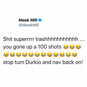 Meek Mill responds to #Tekashi69 music video and song 👀😳 @MeekMill https://t.co/KZfEXTKYT4: Meek Mill responds to #Tekashi69 music video and song 👀😳 @MeekMill https://t.co/KZfEXTKYT4