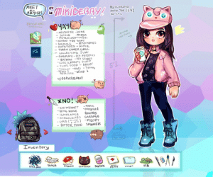 Anime, Bad, and Batman: MEET  ARTIST!  EmisicERRY!  Ma scoRPIO  INFP 94 (23)  So-CAL  PROGRAMS  YAYA  - AESTHETIC -ANIME  - SPACE  - ASTROLOGY MBTI  -WEABOO A$ SH*T  -ANIMOLS  POTATOES - ASMR  TURBO GAMER GRILL  COLLECTING JUN  -COSPLAY -DIY. PROJECT  BATMAN - PET STORES  CUTE/CREEPY STUFF  - JUNK FOOD-HOLO  TROLLIN-NaCi Tiltina  -BE CしCKk-WEIRD  Alw  1ost face  -NANGA  DEAD MEMES  PS  51  DORKBEANS  U  XNO!  FAKE  - BAD INTERNET  -REING BROKE  -overpriced  -16NORANCE  GARBAGE  -FIDJET  - BITTER FOOD SPINNERS  -HYPROCRITES  - COLD (MY CEops  WEAY-  JANROT  WT:  95 t65  Inventory  TRASH  LETCHUP  PACKETS  BLACK HOUE  FIDST  COIN POUCH  PacNETBAC  ATD IT  UsB  wauzT Mikiberry (@Mikiberryy) | Twitter