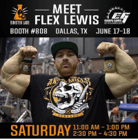 Flexing, Memes, and Sports: MEET  EUROPA GAMES  SINISTER LABS  GET FIT&SPORTS EXPO  BOOTH #808 DALLAS, TX JUNE 17-18  SPREADS  SATURDAY 11:00 AM 4:30 PM  1:00 PM  2:30 PM See you all today..... Can't wait to see everyone today!!!! - Repost @sinisterlabs ・・・ This Saturday don't miss the chance to meet 5X and Current 212 Mr.Olympia in Dallas, TX @europagamesexpo 6-18 from 11am-1pm & 2:30pm-4pm at booth 708-808. Stop by for autographs and the best deals on Sinister Labs product anywhere!! See you this weekend! staysinister @flex_lewis @angrymills @sergioolivajr sinisterlabs dallas europagamesexpo europadallas