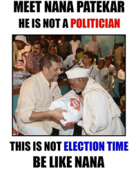 MEET NANA PATEKAR  HE IS NOT A  POLITICIAN  THIS IS NOT ELECTION TIME  BE LIKE NANA Have been noticing nana over past few years,  always there for farmers everytime they needed him 👏🏻 #Respect May you live long ❤️ #IndiaNeedsMorePeopleLikeYou . #NanaPatekar #PeoplesMan #SaluteToThisMan 🙌🏻 #Idol #Inspiration . Lives are more important then money.! #HeKnowsThat ➡️ @ommy_007