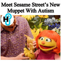 """HU Staff: Kayla Hodge @_kaylaareneee Apparently, Sesame Street has a new resident who has orange hair and a cute love for her toy rabbit. The newest muppet is a girl named Julia, who also has autism. ______________________ Julia has been a part of the """"Sesame Street"""" family, but only in the storybooks. However, by popular demand, the decision was made to add her character to the TV series. ______________________ More on thehollywoodunlocked.com: Meet Sesame Street's New  Muppet With Autism HU Staff: Kayla Hodge @_kaylaareneee Apparently, Sesame Street has a new resident who has orange hair and a cute love for her toy rabbit. The newest muppet is a girl named Julia, who also has autism. ______________________ Julia has been a part of the """"Sesame Street"""" family, but only in the storybooks. However, by popular demand, the decision was made to add her character to the TV series. ______________________ More on thehollywoodunlocked.com"""