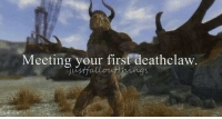 deathclaw: Meeting your first deathclaw
