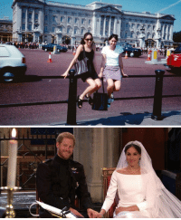 Meghan Markle posing in front of the palace at age 15.. and marrying the prince 22 years later. #RoyalWedding https://t.co/fcBKt6owDs: Meghan Markle posing in front of the palace at age 15.. and marrying the prince 22 years later. #RoyalWedding https://t.co/fcBKt6owDs