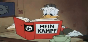 Nazi, Mein Kampf, and Regime: MEIN  KAMPF The beginning of the Nazi regime 1935 colourized