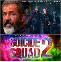 DCEU NEWS : MelGibson has seemingly confirmed that he is in Serious talks to Direct The SuicideSquad Sequel ! We all knew SuicideSquad2 was going to happen, Critics Hated the first one, but regular audiences Loved it and it did great at the box office. Comment Below what you want to see in 'SUICIDE SQUAD 2' ! DCExtendedUniverse 💥 DCFilms: MEL GIBSON IN TALKS TO DIRECT  GI OC. MARVEL. UNITE DCEU NEWS : MelGibson has seemingly confirmed that he is in Serious talks to Direct The SuicideSquad Sequel ! We all knew SuicideSquad2 was going to happen, Critics Hated the first one, but regular audiences Loved it and it did great at the box office. Comment Below what you want to see in 'SUICIDE SQUAD 2' ! DCExtendedUniverse 💥 DCFilms