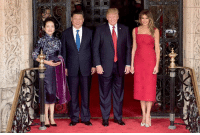 China, President, and Will: Melania and I look forward to being with President Xi & Madame Peng Liyuan in China in two weeks for what will hopefully be a historic trip!