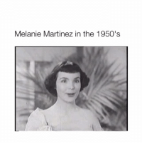 """Memes, The Interview, and 🤖: Melanie Martinez in the 1950's This is Teresa Brewer singing her 1951 hit """"Music Music Music"""" I found this song while doing homework for a music history class and thought she beared a striking resemblance to Melanie! This got me to thinking about the interview where Melanie said if she was alive in the 60's she would have still been a singer, and this begs the question, was she? 👀👀👀 - melaniemartinez crybaby littlebodybigheart"""