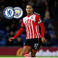 Chelsea are confident of beating Manchester City to the £50m signing of 25-year-old Southampton centre-back Virgil van Dijk.: MELSE  CHES  94  OOTBALL  CLUB  CITY  Transfer talk Chelsea are confident of beating Manchester City to the £50m signing of 25-year-old Southampton centre-back Virgil van Dijk.