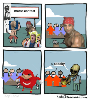 So spooky: meme contest  3D  so spooky  Acp Tonic  HeckifIRnowcamics.com So spooky