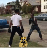 Boxing, Fashion, and Meme: MEME Good OL Fashion Boxing In the Streets To Handle The Issue 👊🏻💢 BoxingLife