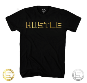 Meme, Tumblr, and Black: meme-mage:    GOLDEN HUSTLE TEE   Sunner Apparel 100% premium soft cotton tee with Sunner Script. Printed in Vancouver. Available in sizes S-2XL. Available in Black and White Free Shipping on All Orders Over $60 Use Promo Code '25SUNNER' to get 25% off