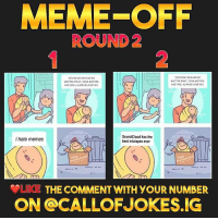 Anime, Dank, and Funny: MEME-OFF  ROUND 2  2  YOVRE MY GON AND NO  MATTER WHAT,YOUR MOTHEA  ANDIWILL ALWAYSLOVE YO  YOUA MY SON AND NO  MATTER WHAT TOVA MOTHEA  AND1WILL ALWAYS LOVE YOU  SoundCloud has the  best mixtapes ever  I hate memes  LIKE THE COMMENT WITH YOUR NUMBER  ON @CALLOFJOKES.IG 🔥ROUND 2 IS LIVE!🔥 👀GO VOTE ON @CallofJokes.IG FOR WHICH YOU THINK IS FUNNIEST!👀 funny wtf cringe anime dank hilarious gaming gamingmemes callofduty gta overwatch playstation xbox lmao funnymeme meme players followme followmeformore meme2017 dankmemes edgy edgymemes lol savage