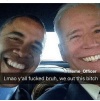 our school aint let us watch that inauguration shit cuz theres too many soft mf's that finna catch feelins over that shit like nigga our lives not gon change smh 💀💀: Meme officer  Lmao y'all fucked bruh, we out this bitch our school aint let us watch that inauguration shit cuz theres too many soft mf's that finna catch feelins over that shit like nigga our lives not gon change smh 💀💀
