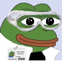 Meme State  University  Feelsoligist  SAD PEPE M.D. I