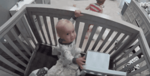 memehumor:  Internet mesmerized by video of toddler helping his little brother break out of a crib.: memehumor:  Internet mesmerized by video of toddler helping his little brother break out of a crib.