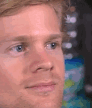 Gif, Meme, and Tumblr: memehumor:  This GIF of a guy blinking in surprise is the reaction meme taking Twitter by storm right now.