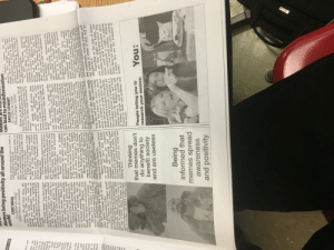 """school newspaper memes: Memes bring positivity all around the  RESS.COM  Mem  can lead to misinformation  BAYLEE STEWART  Co-Editor-in-Chief,  Photo/Design Editor  be  In addition,  offensive. Yes, people may enjoy  seeing these memes, but are they  truly necessary to have? If they are  created by someone, that meme can  memes  can  CADE SKUSE  Co-Editor-in-Chief  FHS Press Accountant  been raised to plant trees in order to  combat global warming.  Memes also help people relate to  others. People share memes because  they are interested in a subject and  want to share it with others who hold  Memes: we all know them. We all be detrimental to them. As funny as  hate them. People all around the world  view or even create memes every day.  However, are they truly beneficial to  society?  As people scroll through their students of the class of 2021. These  social  no doubt that they will come  across a meme. Memes can be very  entertaining and make you laugh, but brought to the Harvard admissions  do you truly know what the meme is  about?  For example, a  ics are  Memes: We all know them. We  all love them. They are constantly the same values as them.  evolving in many ways, such as  sharing new messages, coming up  this sounds, creating offensive memes  can affect your future.  In  admissions offers to at least 10  oes  """"I look at memes because it helps  me think about a topic. For example,  with new formats and spreading I look at Cross Country memes  positivity. Memes are an integral part because it gets me through the pain  2017,  Harvard  rescinded  ts and  d true?  lies in  soring.  ument,  argued  students created a private Facebook  group and  through this chat. Once this was  ciety and their existence is overall  of Cross Country,"""" freshman Leannah  media  platforms,  there  sent offensive memes  a benefit.  The word """"meme"""" was first coined  Messenger said.  ves. If  then  truly  have  . The  ment,  truly  y will  ing in  in 1976. He described a meme as a  par"""