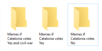"Meme, Memes, and Run: Memes if  Catalonia votes  Yes and civil war  Memes if  Catalonia votes  Yes  Memes if  Catalonia votes  No <p>Remember to keep a diverse meme portfolio or you run the risk of being overtaken by events via /r/MemeEconomy <a href=""http://ift.tt/2yQo1Ax"">http://ift.tt/2yQo1Ax</a></p>"