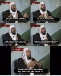 "<p>Are Memri TV Memes still a good investment? via /r/MemeEconomy <a href=""http://ift.tt/2mHowuA"">http://ift.tt/2mHowuA</a></p>: MEMRI TV  MEMRI . . TV 1110-1  Take a look at Japan. They have  sunk to the lowest level of humanity.  The men do not get married.  Instead, they watch cartoons,  MEMRI TV  made in the so-called anime style,  which is infested with homosexuality.  Moreover, they sleep with large pillows  depicting these hideous cartoons,  MEMRI TV  instead of sleeping with women.  May Allah have mercy upon us! <p>Are Memri TV Memes still a good investment? via /r/MemeEconomy <a href=""http://ift.tt/2mHowuA"">http://ift.tt/2mHowuA</a></p>"