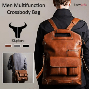 permanentfilemugglethings:  Multifunction Backpack Solid Crossbody Bagcheck out HERE20% OFF coupon code:September20: Men Multifunction  Newchic  Crossbody Bag  Ekphero permanentfilemugglethings:  Multifunction Backpack Solid Crossbody Bagcheck out HERE20% OFF coupon code:September20