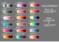 "<p><a href=""http://askthestargazers.tumblr.com/post/119222851128/i-saw-some-friends-doing-palette-challenges"" class=""tumblr_blog"" target=""_blank"">askthestargazers</a>:</p>  <blockquote><p>/I saw some friends doing palette challenges during the week, so I decided to start my own for fun. Inbox is open temporarily for this! (Only HS/ATSG characters please. &lt;3)<br/></p></blockquote>: MENACE  UnCHANGinG  ALWAYS  AsKTHESTARGAzERS  EnCAsEO""  PARADISE  SunRISE  PALE TTE  CHALLENGEV  EXISTEnCE  SEnTRY  SEND  1CHARACTER  ""NEVER""  ""HONOR  ""Houlow  ""SPEAKTOME  I PALETTE  MiMIC  ""ORIGIA  WELCOME""  FRIENOLY FIRE CEATIONS"" <p><a href=""http://askthestargazers.tumblr.com/post/119222851128/i-saw-some-friends-doing-palette-challenges"" class=""tumblr_blog"" target=""_blank"">askthestargazers</a>:</p>  <blockquote><p>/I saw some friends doing palette challenges during the week, so I decided to start my own for fun. Inbox is open temporarily for this! (Only HS/ATSG characters please. &lt;3)<br/></p></blockquote>"