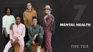 """Mental health is just as critical as physical health. And Female athletes deserve the same access to mental health resources as their male counterparts.  #TheTea, Episode 7: """"Mental Health.""""  🎥: https://t.co/hXEM1i33TS https://t.co/79CrENwnNK: MENTAL HEALTH  THE TEA  HOSTED BY THE PLAYERS' TRIBUNE Mental health is just as critical as physical health. And Female athletes deserve the same access to mental health resources as their male counterparts.  #TheTea, Episode 7: """"Mental Health.""""  🎥: https://t.co/hXEM1i33TS https://t.co/79CrENwnNK"""