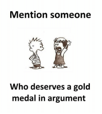 Follow our new page - @sadcasm.co: Mention someone  Who deserves a gold  medal in argument Follow our new page - @sadcasm.co