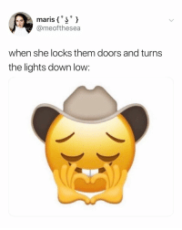 Emojis, Wild, and Relatable: @meofthesea  when she locks them doors and turns  the lights down low: these new emojis are wild