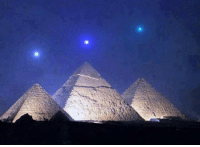 Mercury, Venus, and Saturn align with the Pyramids of Giza for the first time in 2,737 years on December 3, 2012: Mercury, Venus, and Saturn align with the Pyramids of Giza for the first time in 2,737 years on December 3, 2012